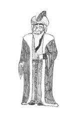 Socratof - A friend in Douwe Dabbert by Dwarf-Cartoonist