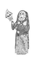 Gift art: Liche Heroine by Dwarf-Cartoonist
