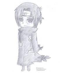 Chibi Itachi Doodle by AliceLocke