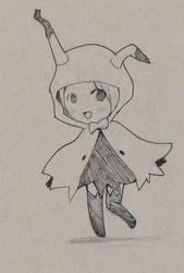 Mimikyu Chibi by AliceLocke
