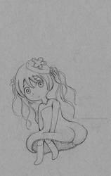 Jellyfish Girl Chibi by AliceLocke