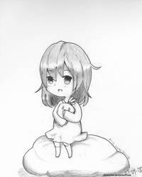 Chibi Shy Girl by AliceLocke