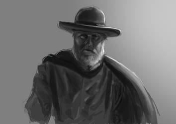 old cowboy study by a-tarzia