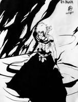The Black (Monochrome) by Maithagor