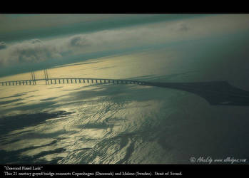 Sunrise. Oeresund Fixed Link by AlexEdg
