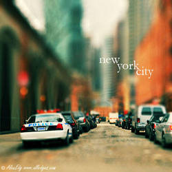 New York City - Tilt-Shift by AlexEdg