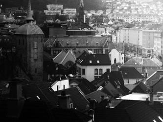 Bergen, Norge by AlexEdg
