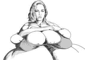 Jennifer Lawrence needs a new bra... by tsarman