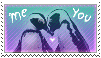 Me 'n You, Penguin Style by Valotoxin