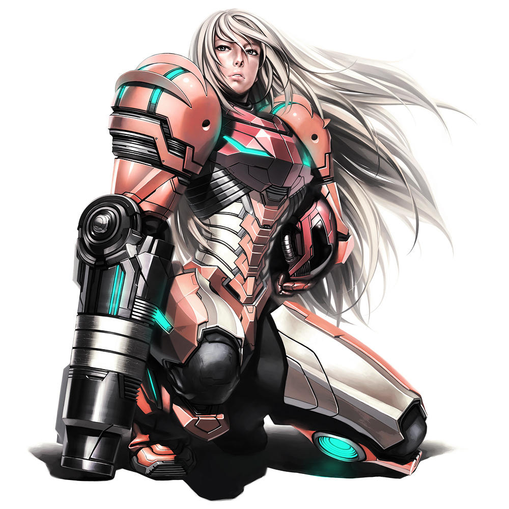 Samus by iwaisan