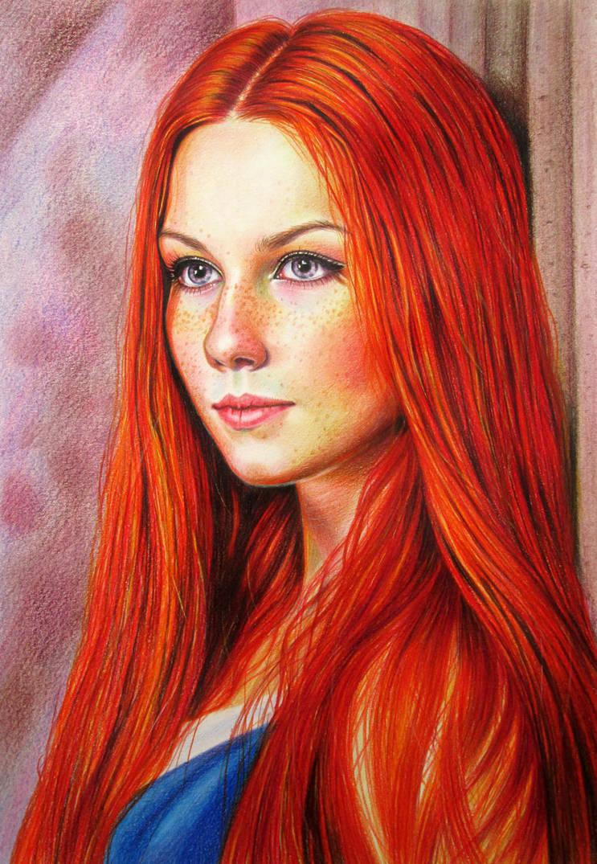 Redheaded by evlena