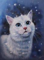 Snow cat by evlena
