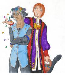 OS - Haley and Oronda 1 by matochan