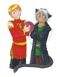 OS - Haley and Oronda 2 by matochan