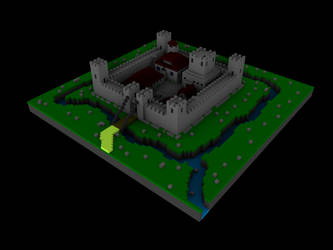 Mycastle2 voxel by ilbarbudo