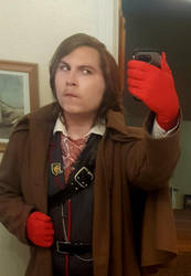 Revolver Ocelot Cosplay 2 By Alistairemerald On Deviantart