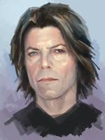 David Bowie by MichaelBulygin