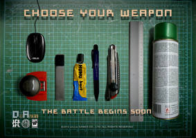Choose Your Weapon by aillia