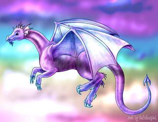 Rainbow Dragon by sufistuk8ed