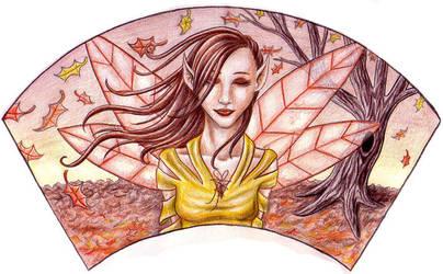 Faerie Fan: Autumn by sufistuk8ed