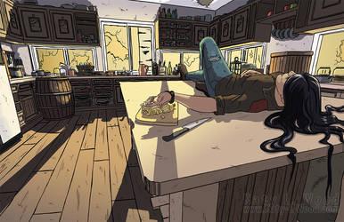 Vivian's Kitchen by Katy-L-Wood