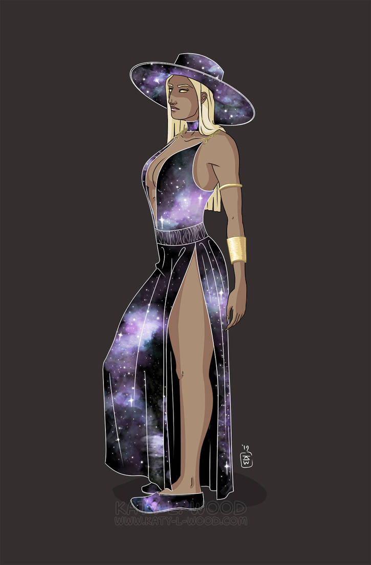 Space Lady by Katy-L-Wood