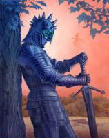 Warrior by Alanpaints