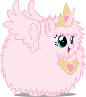 Princess Fluffle Puff by youki506
