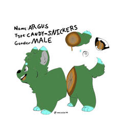 Argus the Snickers Gorgi by LaitheFluffhog