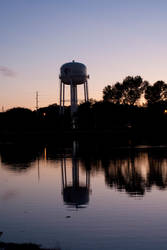 Nightfall Silhouette by Jessica-in-Iowa