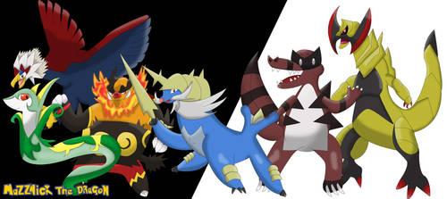 Mazznick's Unova Pokemon Team Remake by Mazznick