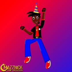 Happy Birthday Mazznick the Dragon by Mazznick