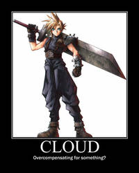 Cloud Motivational by bobflogg