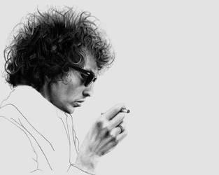 Bob Dylan by ZZeeEE