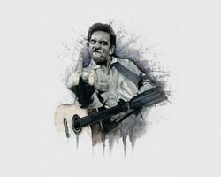 Johnny Fucking Cash by ZZeeEE