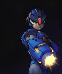 Megaman by SkechRoman