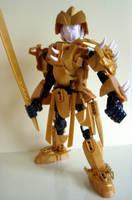 Ancient Hero 'The Golden Samurai' by Sparkytron