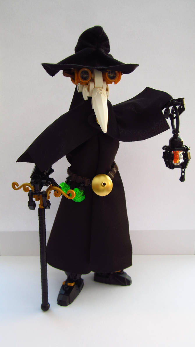 The Plague Doctor by Sparkytron