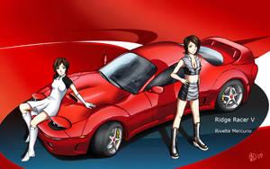 Ridge Racer V-Rivelta Mercurio by Shaw-exe