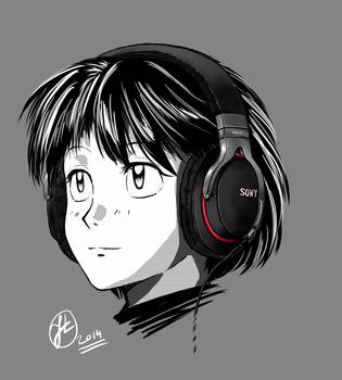 2014-05-19 MDR-1R Girl by Shaw-exe