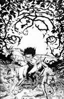 The Jungle Comic Book drawing by Maxahiss