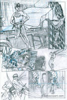 Self-Portrait Comic pencils by Maxahiss