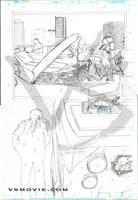 VS page 6 pencils by Maxahiss