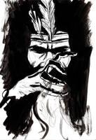 Draw-Off No. 16: Voodoo Priest by Maxahiss