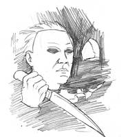 Draw Off No. 9: Michael Myers by Maxahiss