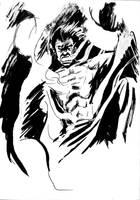 Draw Off No. 19: Nightcrawler by Maxahiss