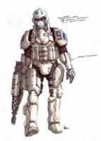 Shock Trooper Concept by VietNguyen