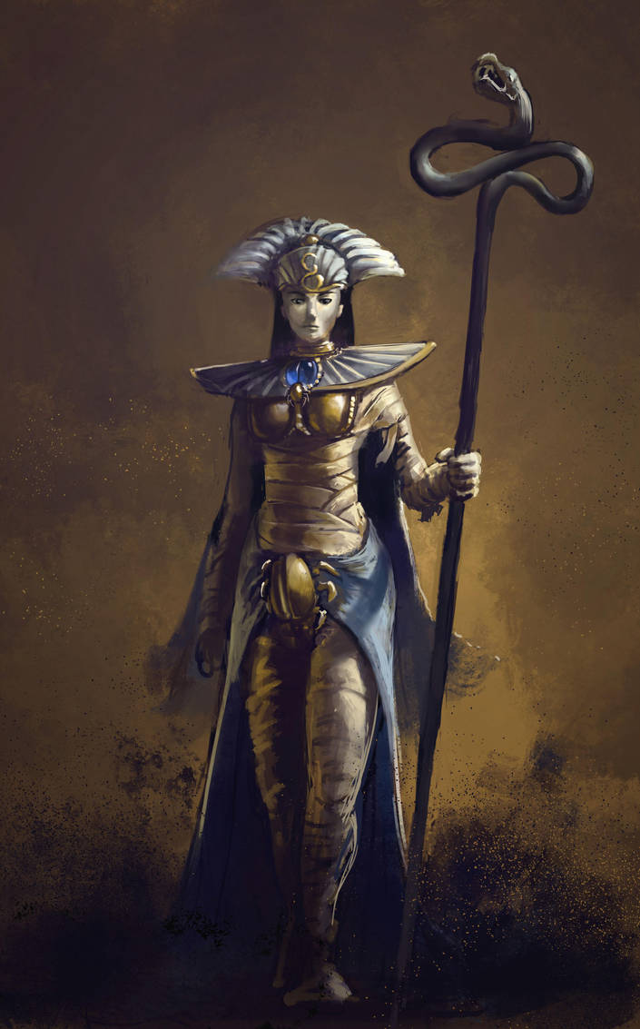 Queen Khalida by Theclockworkpainter