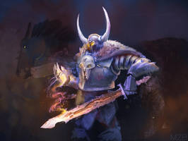 Archaon The Everchosen by Theclockworkpainter