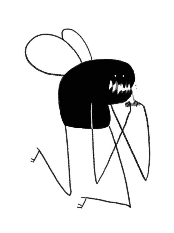 buggo gotta eat by TheSaladCram